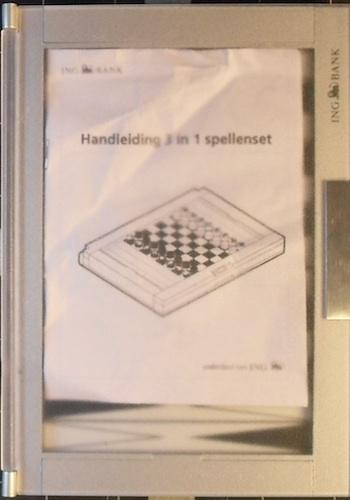 Spellenset (3 spellen)