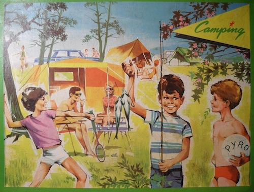Camping-Spel