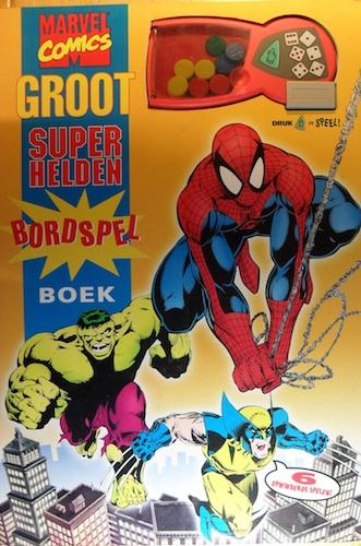 Groot superhelden bordspel boek