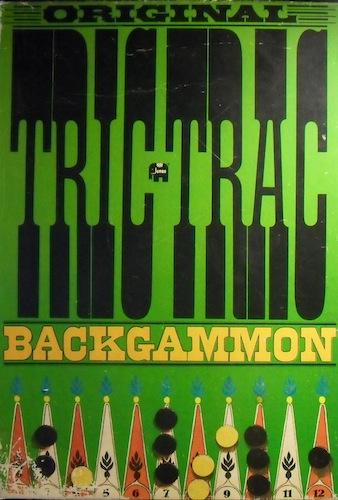 Original Tric Trac/Backgammon