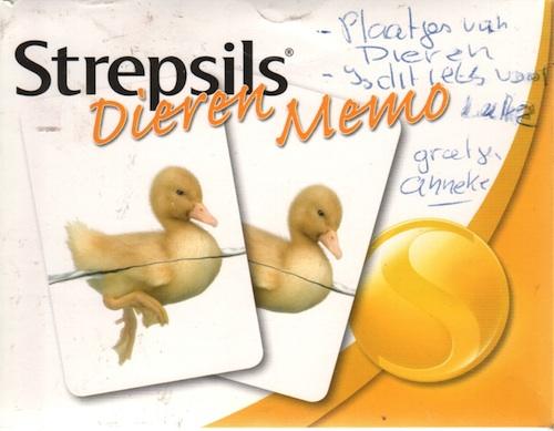 Strepsils: Dieren Memo