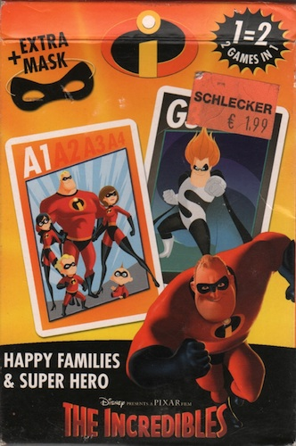 The Incredibles: 2 games in 1 (Happy Families & Super Hero)
