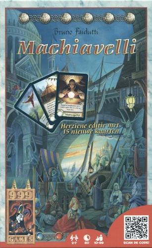 Machiavelli - Herziene editie met 15 nieuw kaarten