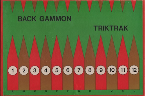 Backgammon - Triktrak