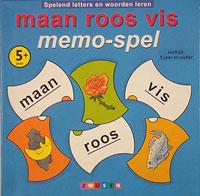Maan Roos Vis: Memo-spel