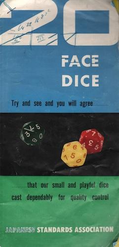 20 Face Dice