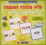 Maan Roos Vis: Letter-kwartet