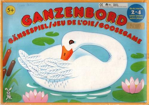 Ganzenbord (Gänsespiel/Jeu de L