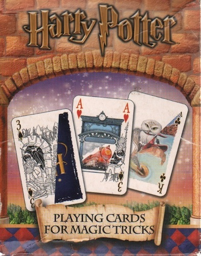 Harry Potter Playing Cards For Magic Tricks