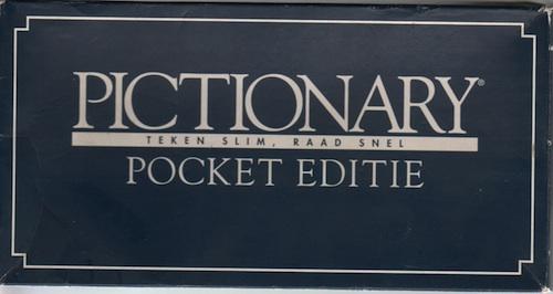 Pictionary Pocket Editie