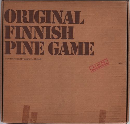 Original Finnish Pine Game