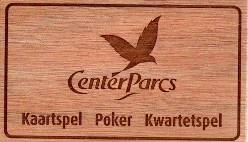Kaartspel Poker Kwartetspel (Center Parcs)