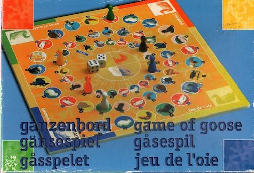 Ganzenspel (Gänsespiel - Game of Goose - Jeu de l