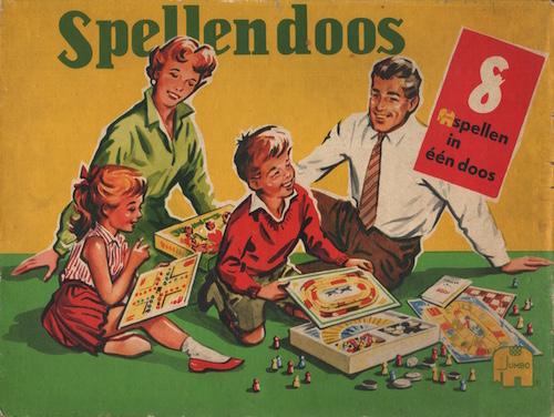 Spellendoos: 8 spellen in één doos