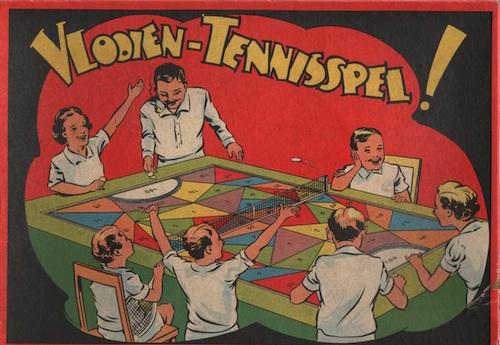 Vlooien-Tennisspel