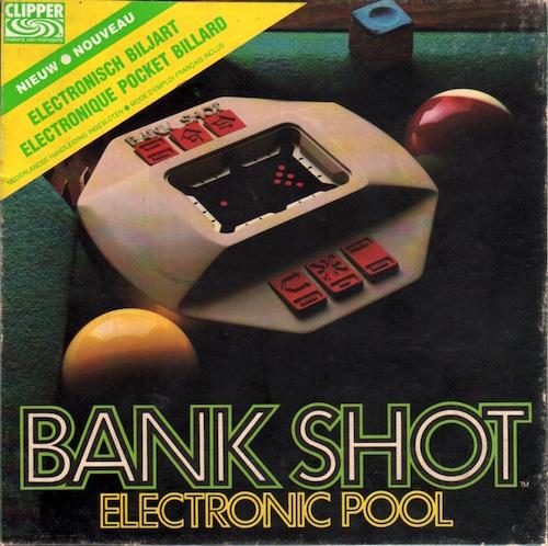 Bank Shot Electronic Pool