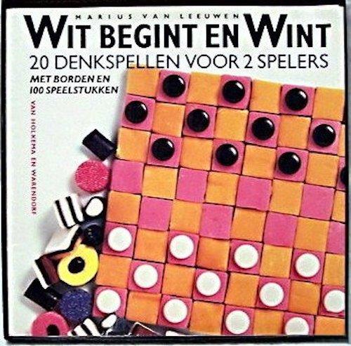 Wit Begint en Wint: 20 denkspellen voor 2 spelers