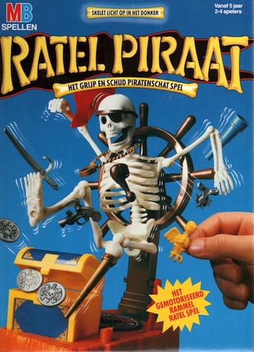Ratel Piraat (het grijp en schud piraten spel)