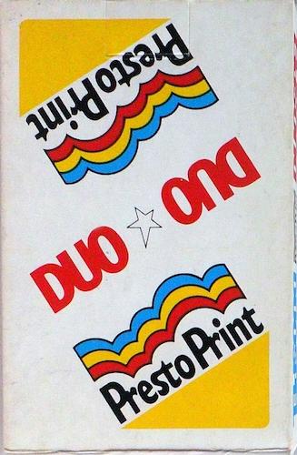 Duospel Presto Print