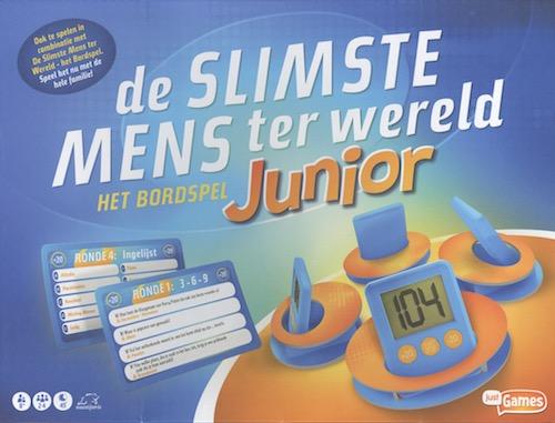 De Slimste Mens ter Wereld: Het Bordspel Junior