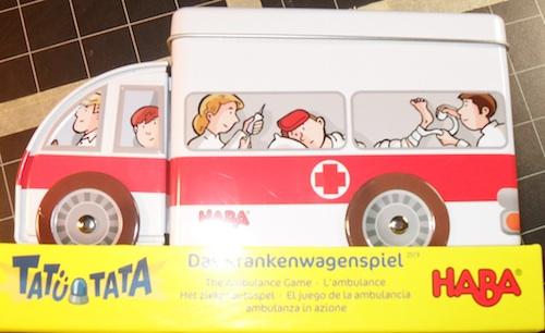 Tatü Tata Das Krankenwagenspiel (Het ziekenautospel)