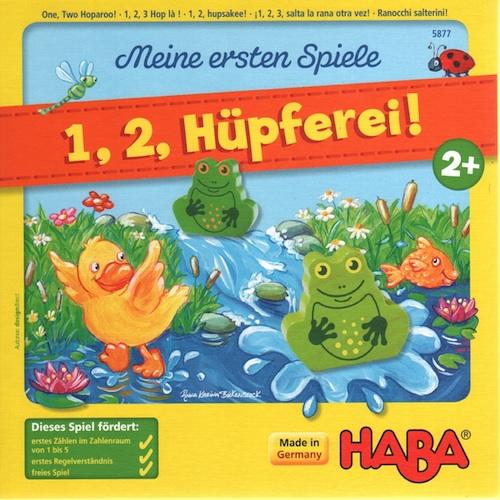 1, 2, Hüpferei! (1, 2, Hupsakee)