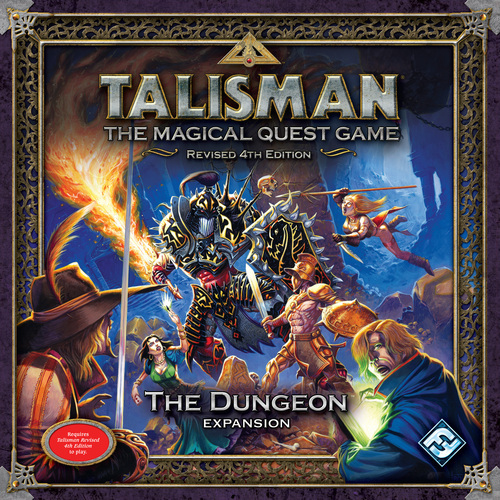 Talisman (Revised Fourth Edition): The Dungeon Expansion