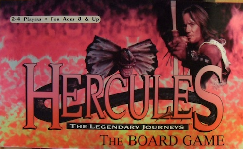 Hercules: The Legendary Journeys - The board Game