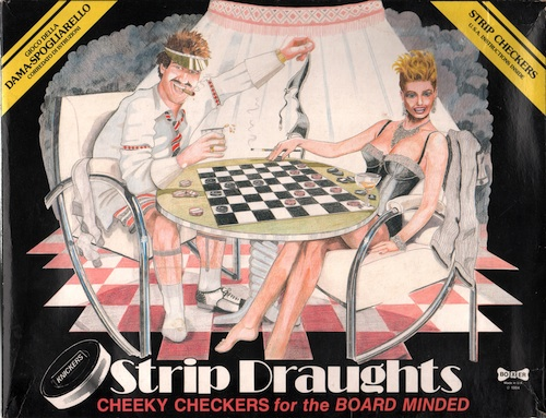 Strip Draughts: Cheeky Checkers for the Board Minded