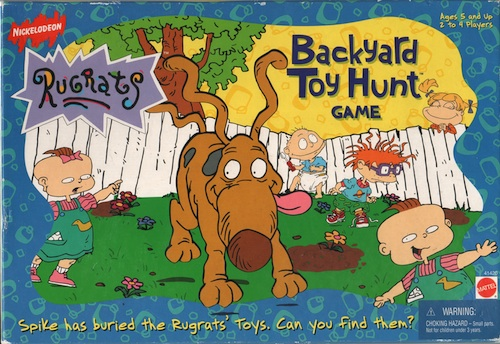 Backyard Toy Hunt Game