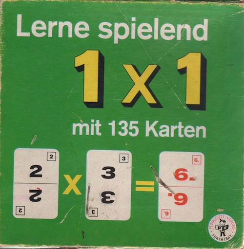 Lerne Spielend (1 x 1 mit 135 Karten)