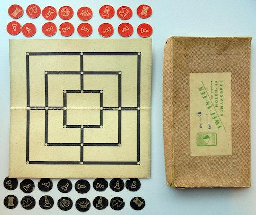 Twee-In-Een: Het populaire Molen- en Schaakspel