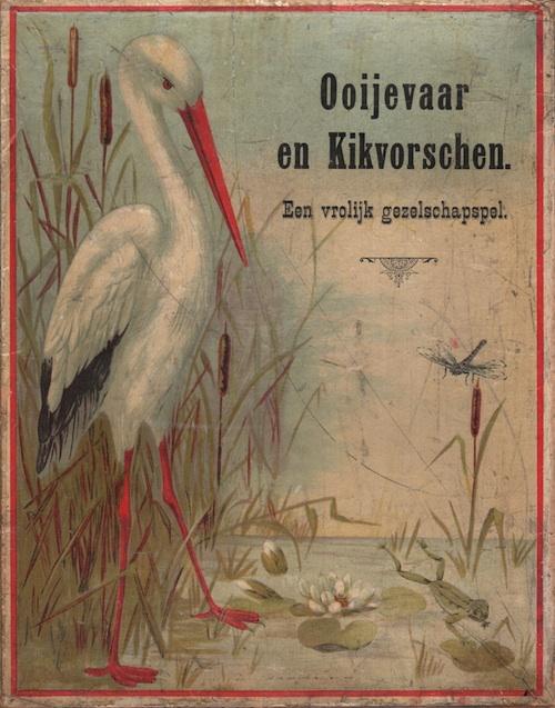Ooijevaar en Kikvorschen: Een Vrolijk Gezelschapspel