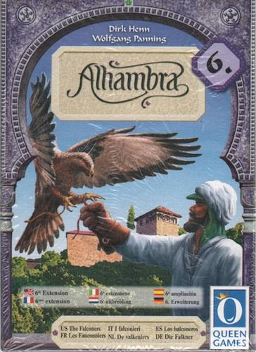Alhambra - Uitbreiding 6: De Valkeniers