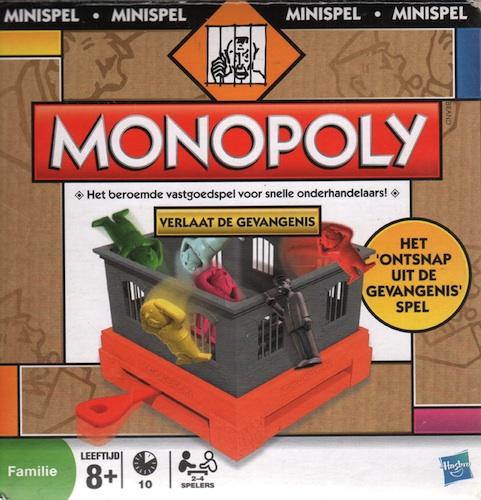 Monopoly: Verlaat de Gevangenis (Minispel)