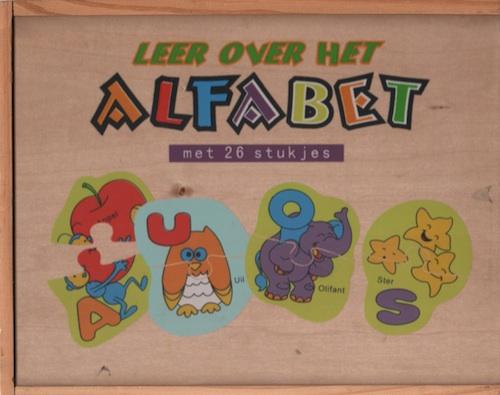 Leer over het Alfabet (met 26 stukjes)