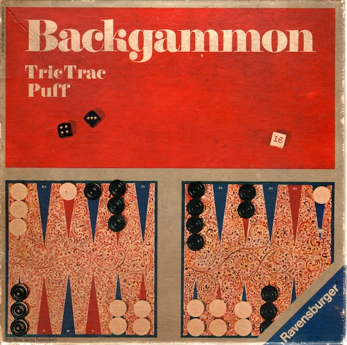 Backgammon - Tric Trac - Puff