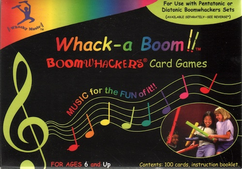 Whack-a Boom (Boomwhackers Card Games)