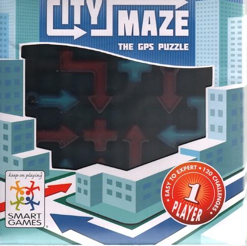 City Maze - The GPS Puzzle
