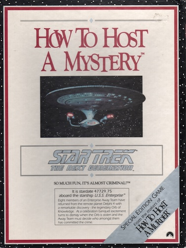 How to Host a Mystery (Star Trek- The nest generation)