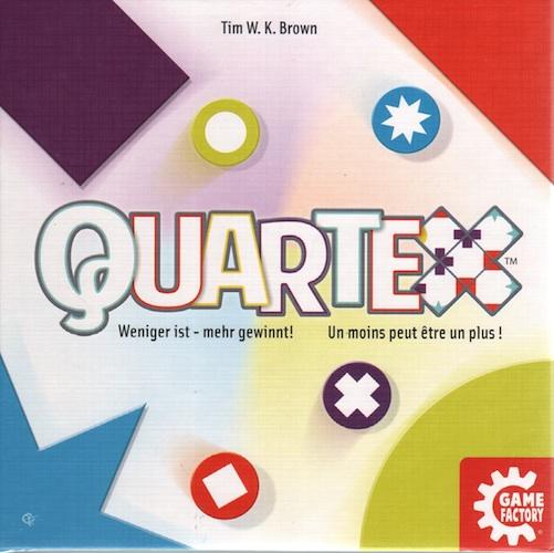 Quartex: Weniger ist - mehr gewinnt!