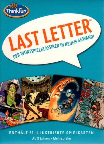 Last letter (Der wortspielklassiker in neuem gewand!)