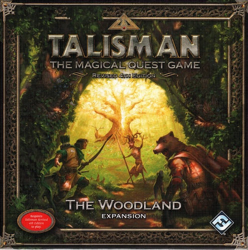 Talisman (Revised Fourth Edition): The Woodland Expansion