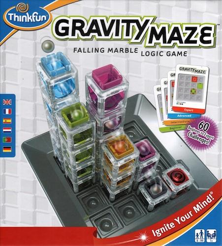 Gravity Maze (Falling Marble Logic Game)