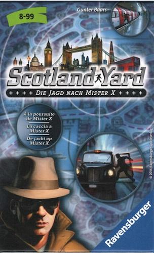 Scotland Yard: De Jacht op Mister X