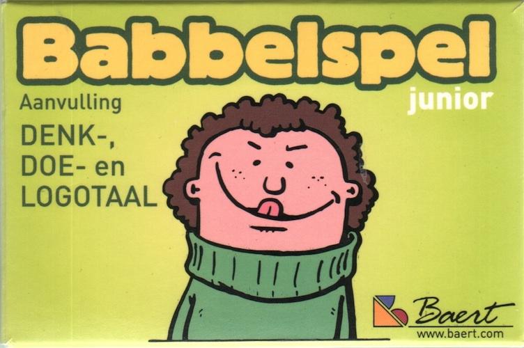 Babbelspel Junior (aanvulling denk-, doe- en logotaal)