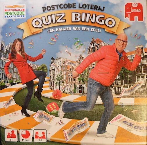 Postcode Loterij: Quiz Bingo