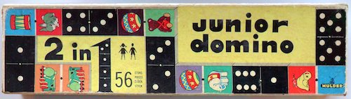 Junior Domino: 2 in 1