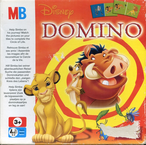 Disney Domino (The Lion King)