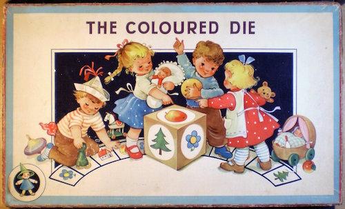 The Coloured Die (De gekleurde dobbelsteen)